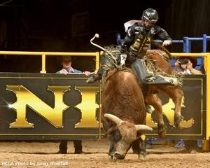 Kimzey Rides to Fourth Straight Bull Riding Title
