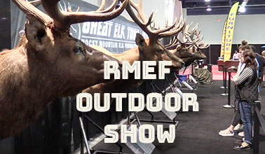 David Sharp at RMEF Outdoor Show in Las Vegas