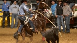 Smidt Claims First Dixie National Rodeo Win