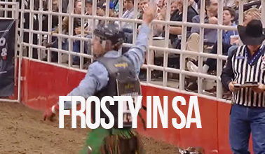 Josh Frost Wins the 2018 San Antonio PRCA Xtreme Bulls