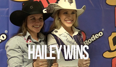 Hailey Kinsel Wins San Antonio