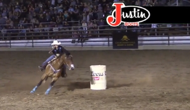 2018 Clovis Rodeo Friday Night Barrels