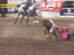 Tyler Waguespack Wins Clovis Rodeo Steer Wrestling