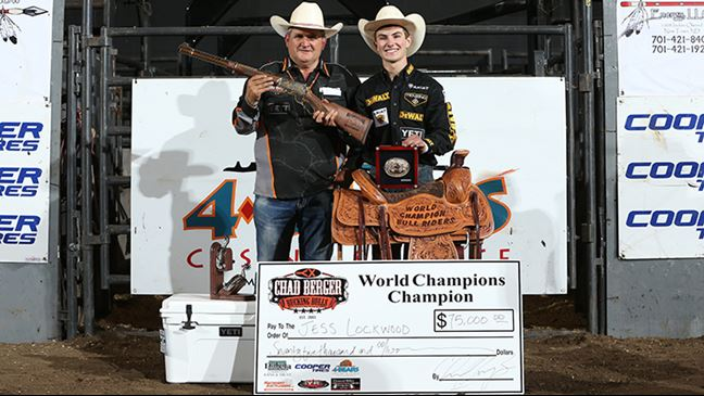 Lockwood Wins Chad Berger S Match Of Champions And 75 000