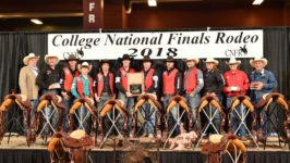Men's Rodeo Wins Consecutive National Championship