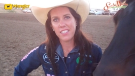 Boot Barn's Road to the Wrangler NFR: Nellie Miller at Santa Maria Elks Rodeo