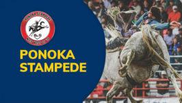 Ponoka Stampede Chuckwagons & Rodeo Showdown Round