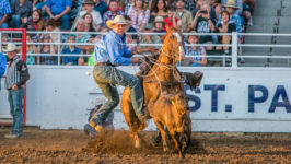 Cooper Martin Cashes in at St. Paul Rodeo