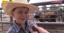 Mini Buckers at Cheyenne Frontier Days