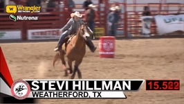 Stevi Hillman Wins the 2018 Ponoka Stampede