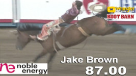Jake Brown Rocks the 2018 Greeley Stampede