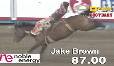 Jake Brown Rocks Greeley Stampede