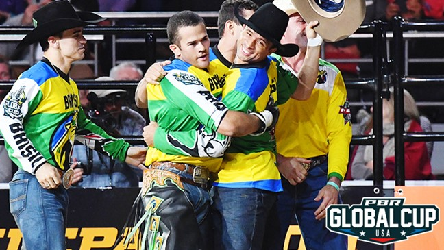 Image result for team brazil pbr Global Cup