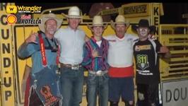 Bullfighter Rowdy Barry Retires