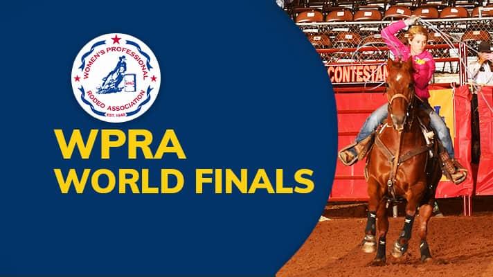 2018 WPRA World Finals Barrel Racing: Sunday, 8:00am (Central)
