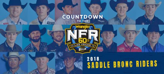 2019 Wrangler Nfr Saddle Bronc Riders Wrangler