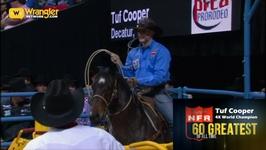 Wrangler NFR 60 Greatest of All Time: Tuf Cooper