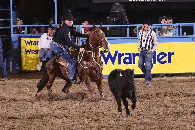 257e6bc6b94 Jarrett Stays on his Rodeo Roll