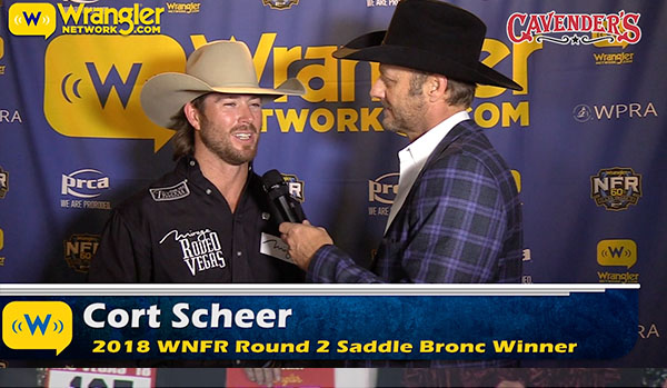 Red Bluff Dodge >> Cort Scheer's 92 Nears Arena Record - Cavender's WNFR Now | Wrangler Network