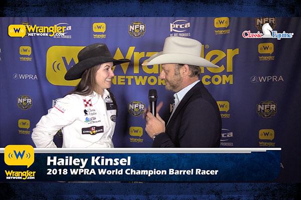 Hailey Kinsel is 2018 World Champion