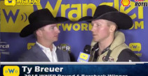 Ty Breuer Locks Up Round 6 win on Tootsie Roll