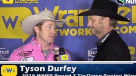 Eleven-Time Wrangler NFR Qualifier Tyson Durfey Fastest Wednesday