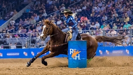 Schuster, Bangert Punch Ticket to Semifinal at RodeoHouston Winning Super Series II and III