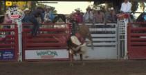 Team Wrangler's Chase Outlaw Wins Clovis PBR