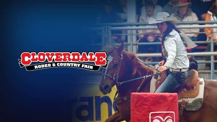 Cloverdale Invitational Rodeo Pool B Sunday Wrangler