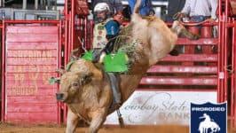 Jordan Spears Etches Name in Sheridan WYO Rodeo History