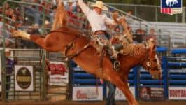 Shorty Garrett Nabs Casper Saddle Bronc Title