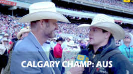 Tanner Aus Wins the 2019 Calgary Stampede