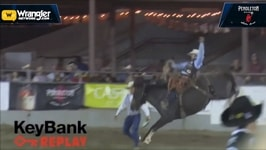 Brody Cress Seizes Saddle Bronc Riding Title in Kennewick