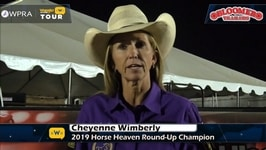 Cheyenne Wimberley Wins in Kennewick