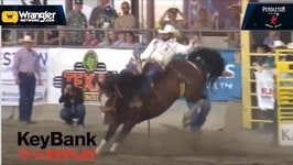Kaycee Feild Seizes Bareback Riding in Kennewick
