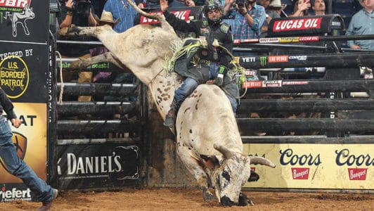 Smooth Operator Takes Lead In Yeti World Champion Bull