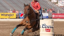 Barrel Racer's Success at Caldwell Night Rodeo Continues