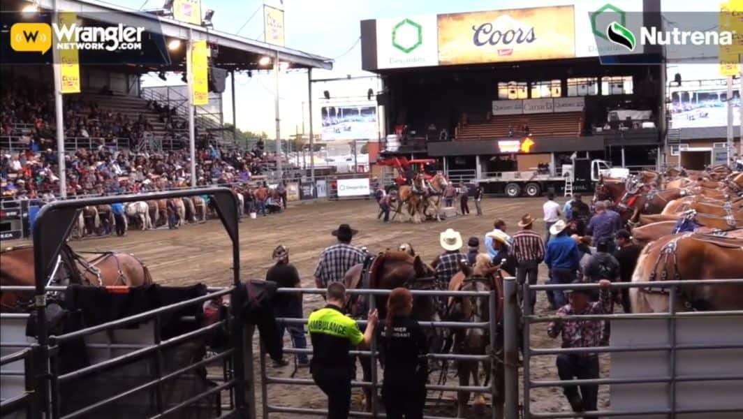 Horse Drawn Contest St Tite Wrangler Network