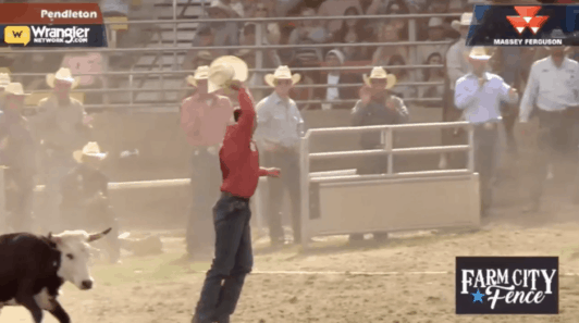 Jesse Brown Wins Pendleton With Arena Record 3 7