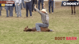Riley Pruitt Wins Tie-Down Roping at the Pendleton Round-Up