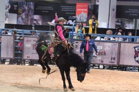 Junior World Finals Inside The Wrangler Rodeo Arena At
