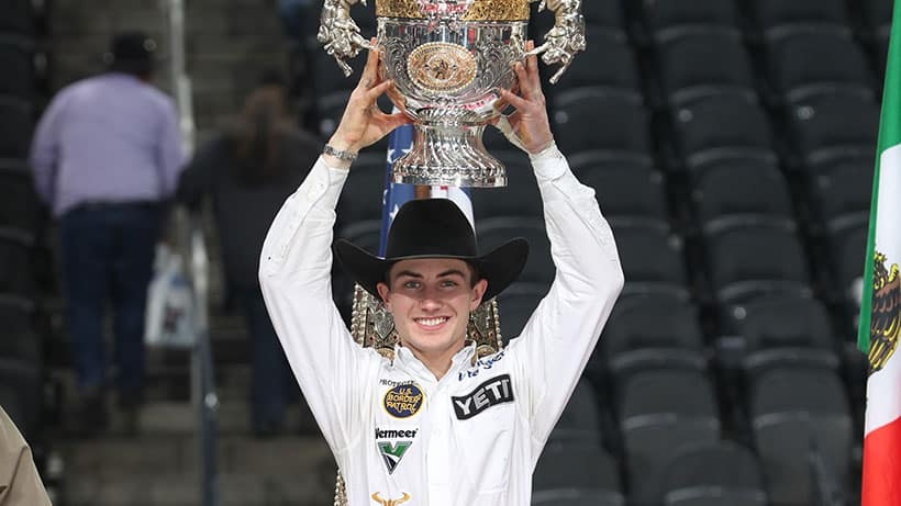 Jess Lockwood Crowned 2019 PBR World Champion to become Youngest Two-Time Title Holder in League History