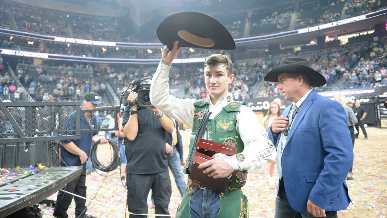 #InCaseYouMissedIt: Lockwood Becomes Youngest Two-Time World Champion in PBR History