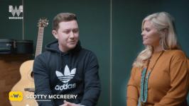 Scotty McCreery at Sharla McCoy's Music Row Live!