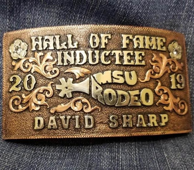 David Sharp Inducted Into Murray State Rodeo Hall Of Fame