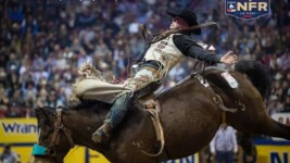 Richmond Champion Wins Round 1 of Wrangler NFR With Record Ride