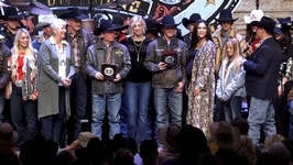 2019 Wrangler Nfr Round 1 Gold Buckle Presentations