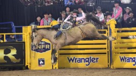Larsen Shines on a Big Night at WNFR