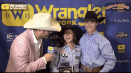 Bloomer Trailers WNFR Barrels: Hailey Kinsel Secures her Second Barrel Racing World Championship