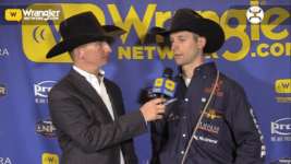 Shane Hanchey Achieves Success in Round 1 of Tie-Down Roping